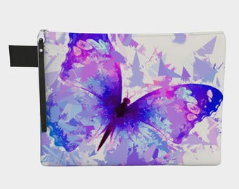 Butterfly 321 Carry-All Pouch purse,