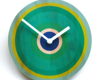 Objectify Rings Wall Clock