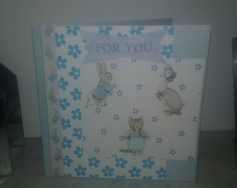 Peter Rabbit and Friends Square Card