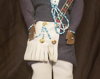 Native American Vintage Handmade Doll