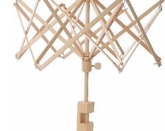 NEW Swift Yarn Winder Umbrella Ball Winder Birch Wood Yarn Swift