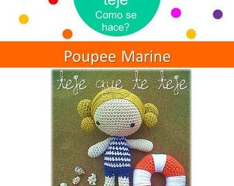 Amigurumi Poupe Marine
