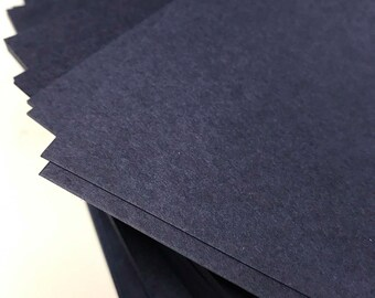5.25x7.25 Navy Blue Matte Paper for Wedding Invitations