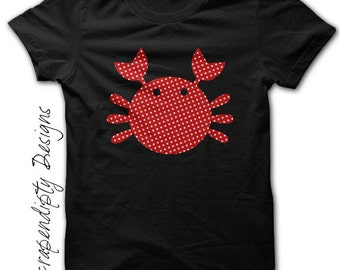 Girls Crab Shirt - Ocean Birthday Shirt / Custom Tshirt Design / Boutique Kids Clothing / Boys Crab Tshirt / Kids Ocean Shirt / Toddler Tee