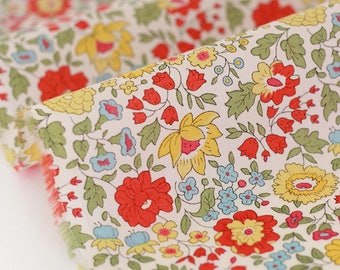 10% fabric Liberty of London from Anjo yellow currently not available, do not buy
