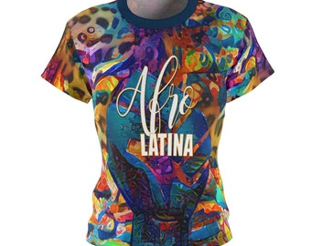 Afro Latina Fist TShirt