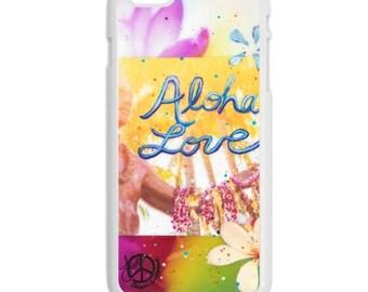 iPhone 6s/6, iPhone 6s/6 Plus Case, ALOHA LOVE DUKE, iPhone6s, iPhone 6 sPlus, Hawaii, Best iPhone Cases, Avail. w Black or White case color