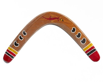 Boomerang Rogal Ethno right-handed returning wooden boomerang great gift and lots of fun