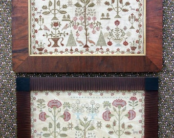 Victoria's Garden (a Faithfully Reproduced Antique Sampler) : Cross Stitch Pattern by Heartstring Samplery