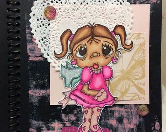 2022 Valentine Angel Digi Stamp