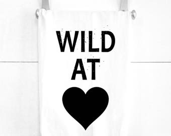 Wild at Heart Tea Towel Gift for the Free Spirited