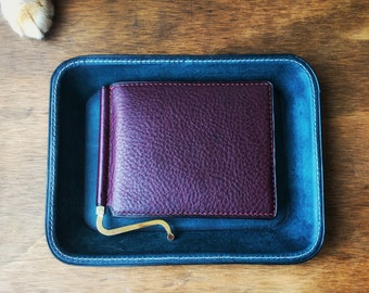 Leather Money Clip Wallet - Roco Leathers