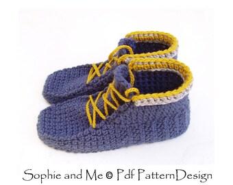 Sophie's Alpine Boots - Crochet Pattern - Instant Download Pdf