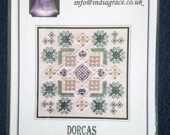 Dorcas - Hardanger and Speciality Stitch  Embroidery Chart