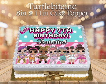 Lol cake topper | Etsy