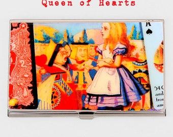 Choice of Alice in Wonderland Business Card Holder