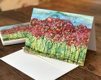 Spring Forest : Fine Art Greeting Card