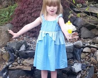 Cinderella Dress - Cinderella Inspired Dress - Cinderella Ballgown - Cotton Play Dress - Cinderella Disneybound - Girls Cinderella Costume