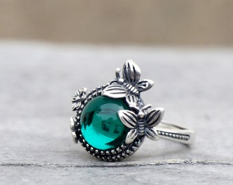 925 Silver Ring - Butterfly