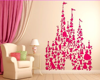 Castle of Characters Indoor Wall Decal