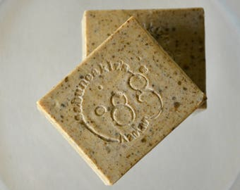 YELLOW MUD SOAP -  All Natural Soap / Traditional Turkish  Clay Soap /  Natural Soap / Olive Oil Soap