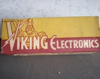 Vintage Mid Century Unused Viking Electronics - Electronic Tube