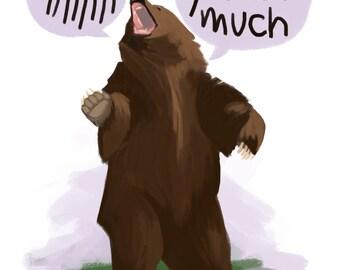 SCREAMING LOVE BEAR