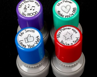 Personalised Teacher Stamps