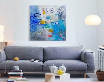 Wall art on canvas Original abstract acrylic painting Large wall art canvas Modern Art Abstract Painting Original art work Living Room Decor