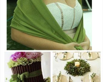 OLIVE GREEN PASHMINA Shawl. Green scarf. Bridesmaid Pashmina. Wedding Favor.