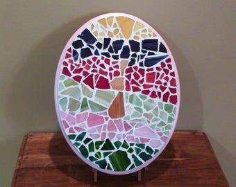 Easter Bunny Rabbit Mosaic