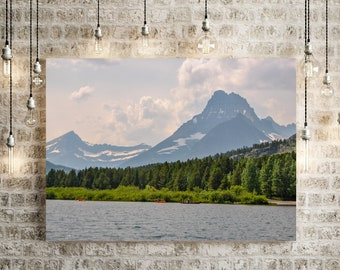 Forest Lake Canvas Wall Art
