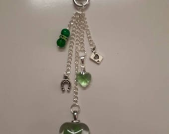 Lucky charms bag charm
