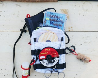 Tenkara Simple Pack - Fly Fishing Minimalist Pouch - X Pac - White