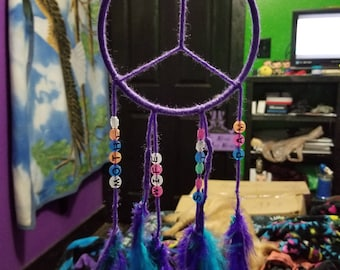 Peace sign dream catcher