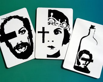 Postcards 3 set Din A6