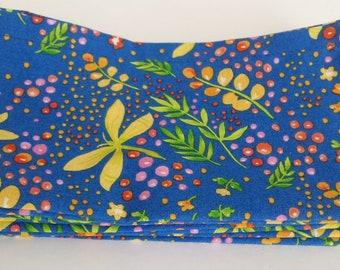 Large Cloth Napkins, Set of Four - Glowing Garden // Everyday Napkins // Family Napkins // Eco Friendly // Hostess Gift // Housewarming