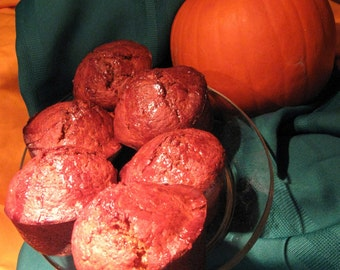 Pumpkin  Soup and Muffins-   Two  Recipes for One Price
