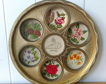 MEMORIAL DAY SALE vintage Kentucky drink tray