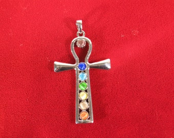 """1pc """"cross"""" pendant in silver style (BC1384)"""
