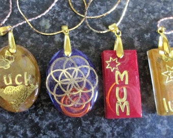 Orgone Law of attraction Pendant