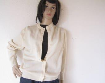 Vintage 60s Wool Cardigan Sweater wool Tina Harper