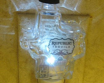 Republic Tequila Glass Night Light