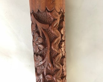 Carved Wood Musical Instrument