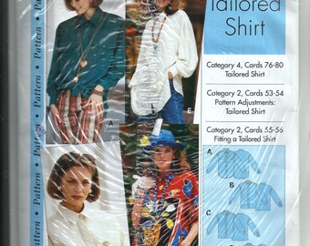 """Sewing Step By Step Pattern  """"Tailored Shirt"""""""