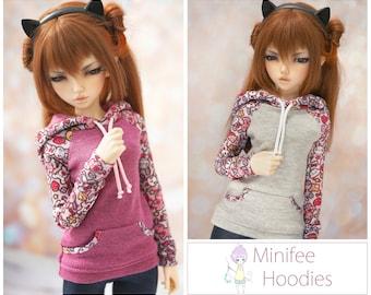 Minifee 'Bunnies' Hoodie *Choose Your Colour*