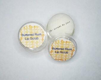Buttered Rum Sugar lip scrub