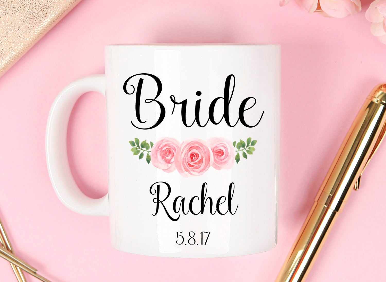 Bride Mug wedding mug bridal mug bride mugs bridesmaid