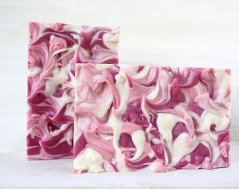 Cherry Blossom Goat Milk Soap - Handmade
