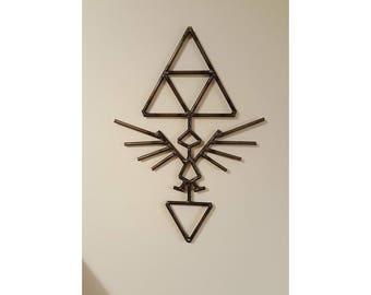 The Legend of Zelda Hylian Shield Design